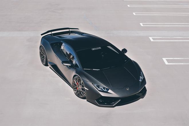 Lamborghini Huracan,Lamborghini,Huracan,siêu xe,Lamborghini Huracan đen nhám cá mập chiến,xe ô tô