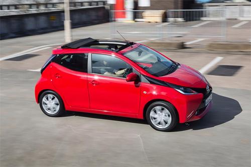 Toyota Aygo X-Wave,xe mui trần mini,xe mui trần,toyota