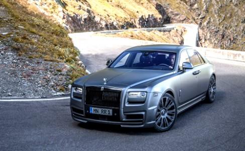 Rolls-Royce Ghost,Rolls-Royce,xe ô tô,siêu xe,xe hạng sang,Rolls-Royce Ghost - siêu sang phong cách mafia