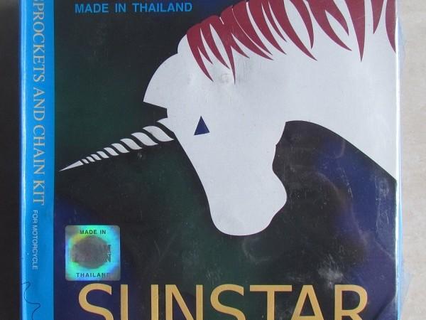 Nhông xích xe máy,nhông xích sunstar,nhông xích thái lan,nhông xích xe máy Thái Lan chính hiệu,Nhông bộ Sunstar