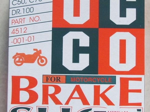 Má phanh xe máy,má phanh cơ,má phanh cơ occo,má phanh thái lan,má phanh thái lan chính hiệu,Má phanh Occo Dream