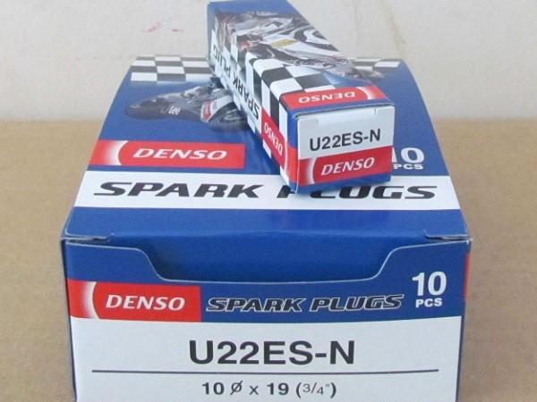 Bugi Denso U22ES-N, buzi xe may, buzi den so,Bugi Denso U22ES-N